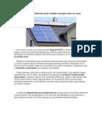 Calcular paneles y baterías para instalar energía solar en casa.pdf
