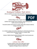 Boatyard Lobster Fest