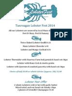 Tanroagan Lobster Fest