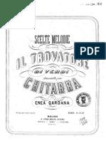 Enea Gardana - Melodie Scelte Da Trovatore (GVERDI)