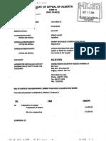 2014 10 10 Happy Thanks Giving, Mr. Glenn Solomon invoices Ernst costs of $15,750 re Alberta Court of Appeal denying Ernst v ERCB appeal