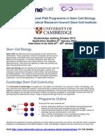 Cambridge Stem Cell
