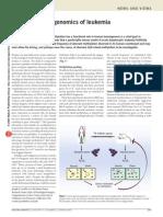 Comparative Epigenomics of Leukemia