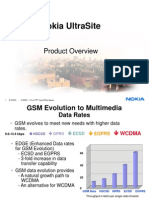 Nokia UltraSite GSMEDGE BTS Product Overview