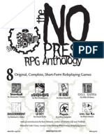 no press Rpg Anthology