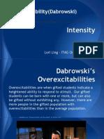 i-tag intensity presentation