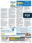 Pharmacy Daily for Mon 13 Oct 2014 - PSA 6CPA signatory call, PSA Excellence awards, Council grants open, NZ CPSA extended, and much more
