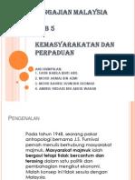 PENGAJIAN MALAYSIA BAB 5 KEMASYARAKATAN DAN PERPADUAN