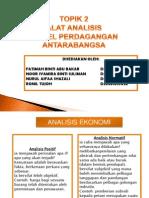 nota Alat Analisis Model