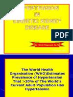 Hypertention in Diabetic Kidney Disease