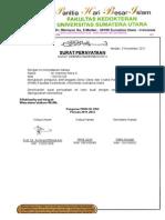 Surat Keputusan Ketua Umum Phbi Fk Usu Harmen