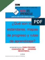 QUE SON LOS STANDARES, MAPAS.doc