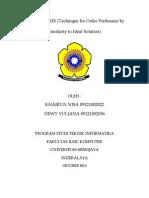 Metode Topsis - Ecak Dewy