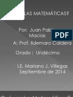 las matematicas.pptx