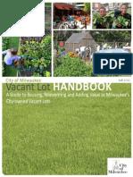 Vacant Lot Handbook