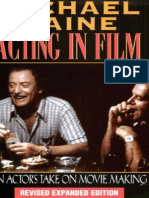 Acting in Film - Michael Caine