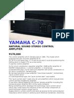 YAMAHA C-70