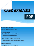 Cases Analysis Case Press.