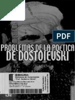 Bajtin Mijail - Problemas De La Poetica De Dostoievsky.pdf
