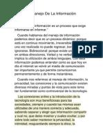 El Manejo De La Información.docx