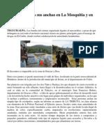 Narcos operan a sus anchas en La Mosquitia y en valle de Sico.docx
