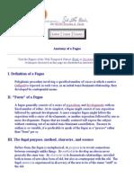 Anatomy of the Fugue