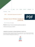 Configurar Java en Windows HOME y PATH (CU00610B).pdf