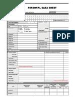 Pds Csc Form212