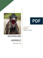 willemsen chloe australian animals