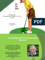 game sense teaching games for understanding