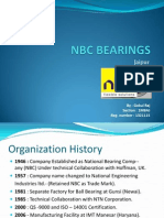 NBC Bearing Organization Structure Training PPT