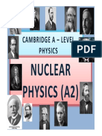 Chapter 27 Nuclear Physics (A2)