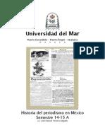 Carta Descriptiva Historia Del Periodismo