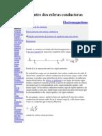 Fuerza entre dos esferas conductoras.pdf