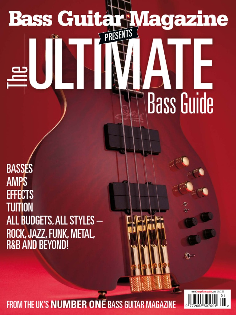 The Ultimate Bass Guidepdf Bass Guitar Guitars