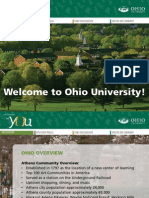 Ohio University Admissions PowerPoint