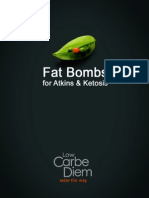 Low Carb Fat Bombs for Atkins and Ketosis