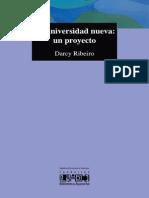 Darcy Ribeiro - La universidad nueva, un proyecto.pdf
