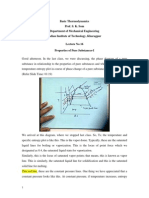 Basic Thermodynamics video to text lecture 16 nptel
