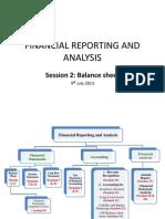 Session 2 Balance Sheet