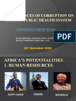 Corruption Health