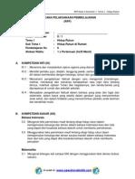 RPP KURIKULUM 2013 SD KELAS 2 SEMESTER 1 - Tema Hidup Rukun - Sub Tema 1 - Hidup Rukun di Rumah - pembelajaran 6.pdf