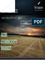 Weekly Agri News Letter 13 to 17 Oct 2014