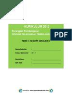 RPP KURIKULUM 2013 SD KELAS 2 (II) SEMESTER 1 - Tema 4 Aku dan Sekolahku - Sub Tema 1 - Tugas-Tugas Sekolahku - pembelajaran 1.pdf