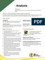 Best Practice Test Item Analysis