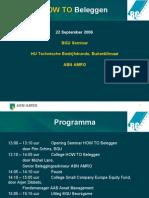 seminar how to beleggen hogeschool van utrecht 22 sept 2006