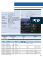 CLLK07 & 08 Technical Parameters Brochure