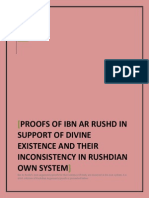 IBN ARRUSHD'S SYSTEM IS UNABLE TOPROVE DEITY