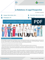 Hospital Physician Relations a Legal Perspective