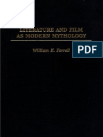 William K. Ferrell - Literature and Film as Modern Mythology (Read P97 -106)